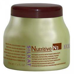 Маска лечебная- восстановливающая bes silkat nutritivo.