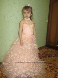 Платья на утренники в садик и просто на праздники для принцесс Прокат