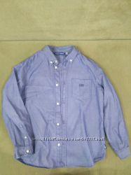 Продам рубашку оригинал маринес для мальчика, джинсовая. На 10 лет
