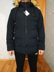 Теплая зимняя мужская куртка размер Л новая с этикеткой