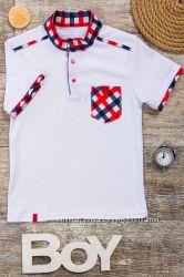 Ультрамодная школьная рубашка для мальчика
