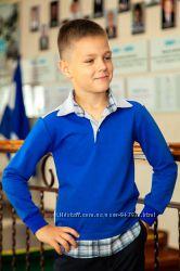 Рубашка - поло школьная для мальчика, подростка