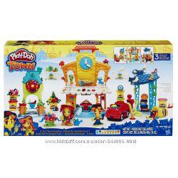 Большой игровой набор Play-Doh Town 3-in-1 Town Center