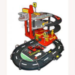 Игровой набор - Гараж FERRARI 3 уровня, 2 машинки 143