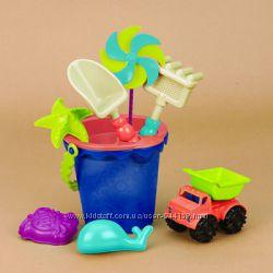 Набор для игры с песком и водой - Ведерце Море 9 предметов