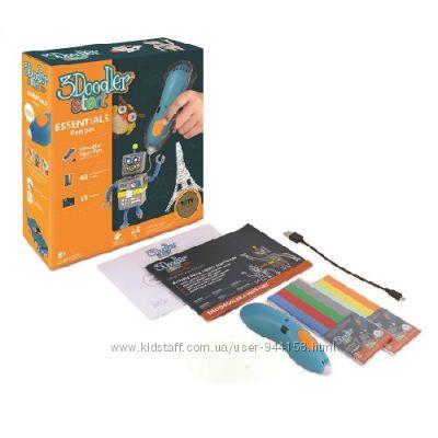 3D- ручка 3Doodler Start для детского творчества -Креатив 48 стержней синяя