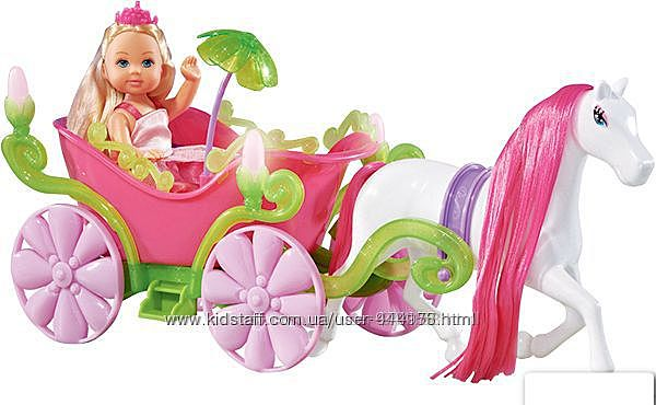 Кукла Ева и сказочная карета с конем Simba 5735754