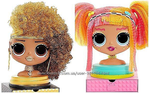 Кукла-манекен L. O. L SURPRISE серии O. M. G. - Леди Неон 565963