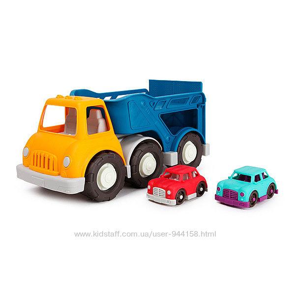 Игровой набор - АВТОВОЗ автовоз, 2 машинки Battat VE1020Z