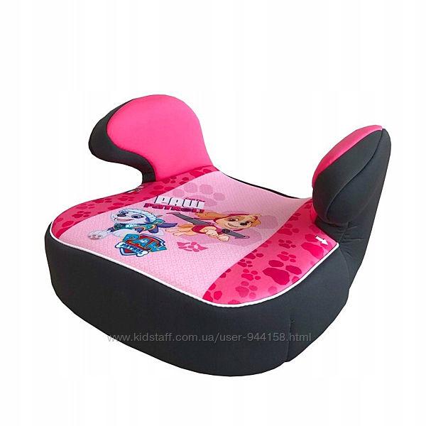 Детское автокресло бустер 15-36 кг Nania Dream Disney Paw patrol pink