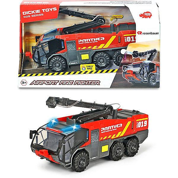 3714012 Пожарная машина аэропорта Dickie Toys Пантера со звуковыми и светов