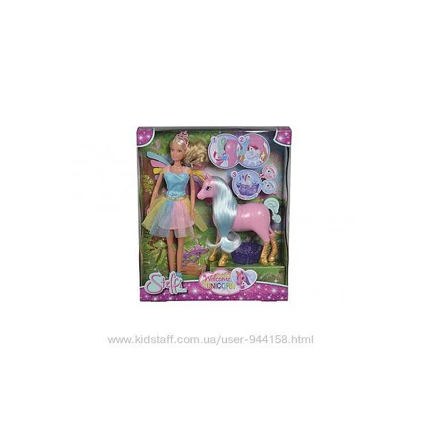 Набор Simba Steffi Love Штеффи Беременная мама-единорог с малышом 5733313