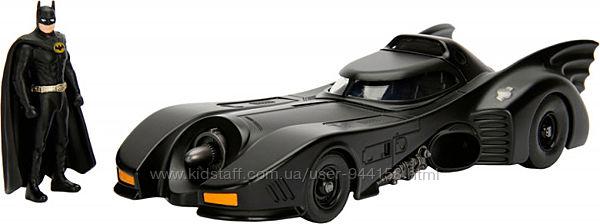 Машина металл.  Jada Бэтмен 1989 Бэтмобиль  фиг. Бэтмена 253215002