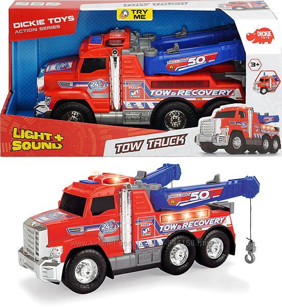3306014 Эвакуатор Dickie Toys Дорожная помощь с двойным манипулятором, со