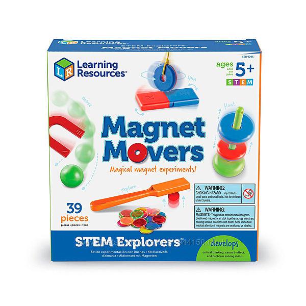 Обучающий Набор Learning Resources - Эксперименты С Магнитами LER9295