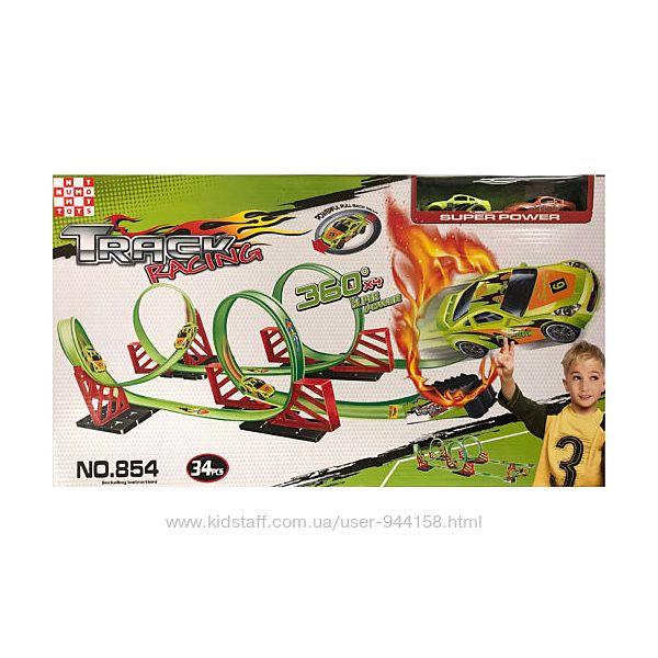 Игровой набор Numo Toys Скоростной трек 360. Огненная петля , 1704C115