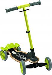 Детский самокат Smoby Toys с металлической рамой четырехколесный 750700