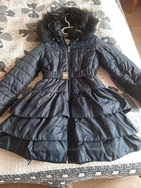 Пальто зимнее Borelli 9 лет
