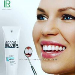 LR Microsilver Зубная паста на основе серебра. Германия