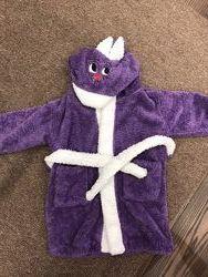 Детский халат Зайка