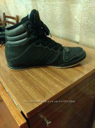 Зимние ботинки кожа. На подростка. 27. 3 стелька