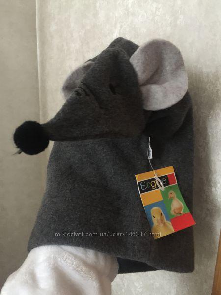Шапка флис с мышкой