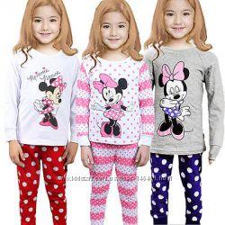 Детские пижамы для девочек Minnie Mouse