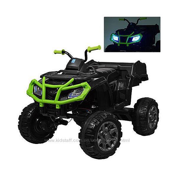 Детский квадроцикл BAMBI M 3564 EL 4 мотора, EVA колёса, кожаное сиденье