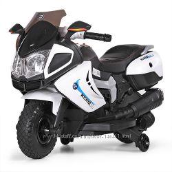 Детский мотоцикл BMW K 1300 M 3625EL EVA колёса, SD, кожаное сиденье