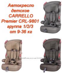Автокресло детское CARRELLO Premier CRL-9801 группа 1-2-3 от 9-36 кг