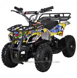Детский железный квадроцикл PROFI HB-EATV 800N расцветки