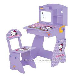 Популярная детская парта Растишка Bambi М 0324 Hello Kitty