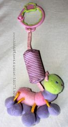 Подвесная игрушка звоночек Гусеница Bright Starts