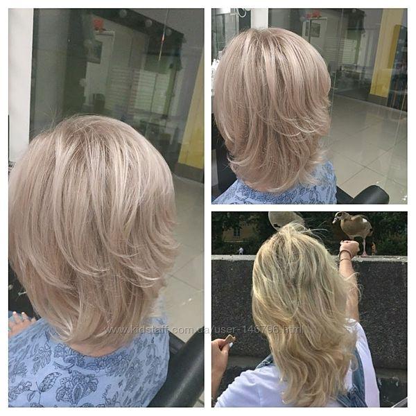 Окрашивания любой сложности, особенно люблю блонды
