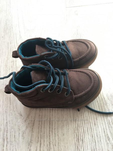 Ботиночки, мокасины на шнуровке   Gymboree