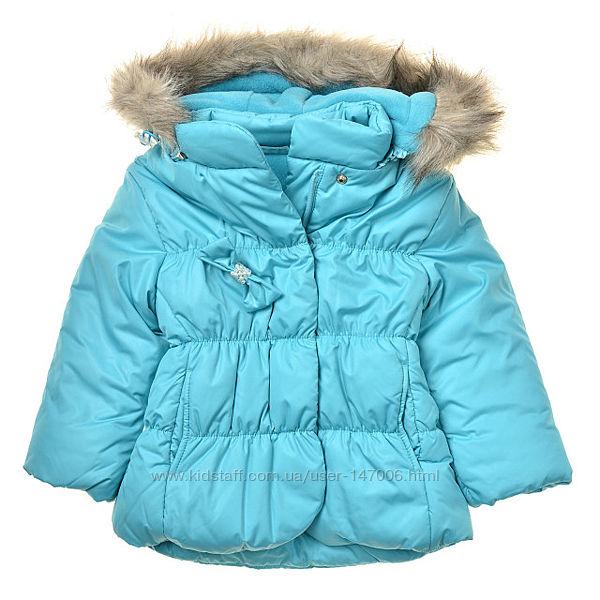 Куртка зимняя для девочки КТ 103 Н Размеры - 80, 98