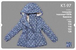 Куртка демисезонная для девочки КТ 97 ТМ Бемби Размер - 104 92,98