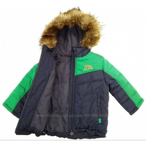 Зимняя курточка на мальчика ТМ Бемби КТ 122  Размер - 98