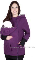 флисовая куртка-толстовка для мам