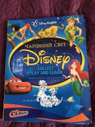 Чарівний світ Disney від Сільпо коллекція карток з грою