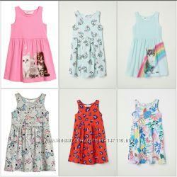 Яркие летние сарафаны H&M для ваших принцесс