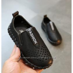 Туфли, мокасины для мальчика черные и коричневые р. 26-37