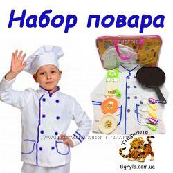 Кухня детская для девочки со звуковыми и световыми эффектами, с водой