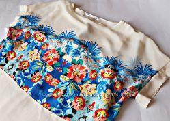 Красивенная блуза с цветами