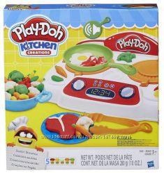 Play Doh Kitchen Веселая кухня Кухонная плита. В наличии