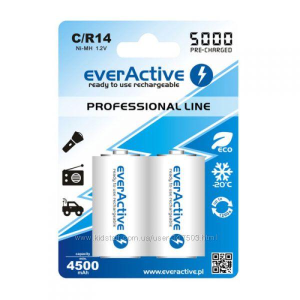 Аккумуляторы EverActive CR14 5000 mAh