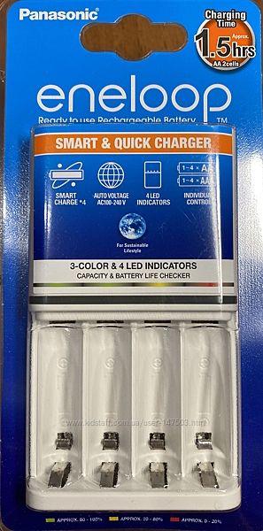Зарядное Panasonic Smart-Quick для АА/ААА BQ-CC55E