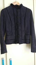Zara меховая курточка, размер S