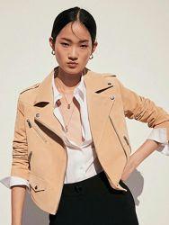 Куртка кожаная Mango, размер S