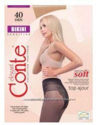 Женские капроновые колготы Bikini 40 ден, ТМ CONTE